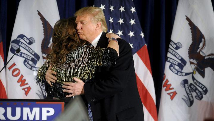 Sarah Palin hilft Donald Trump: Freunde im Geiste