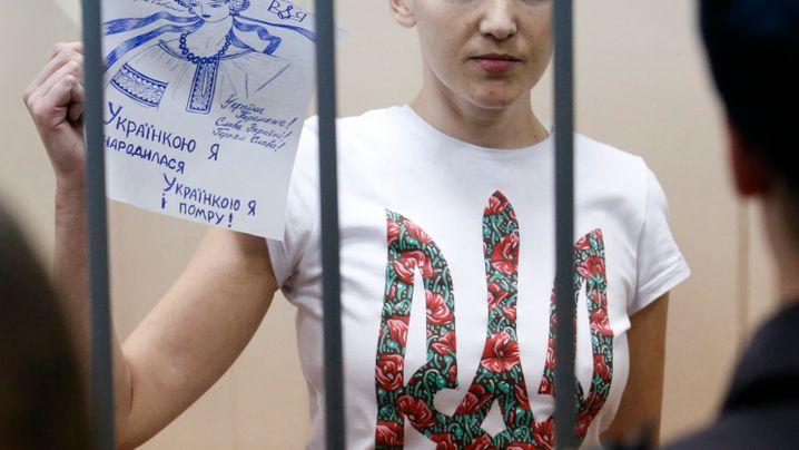 Nadeschda Sawtschenko: Heldin der Ukraine
