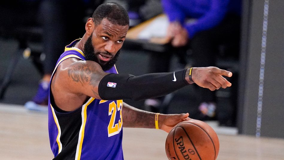 You know it: Die Lakers stehen wieder im Finale, LeBron James hat dafür gesorgt