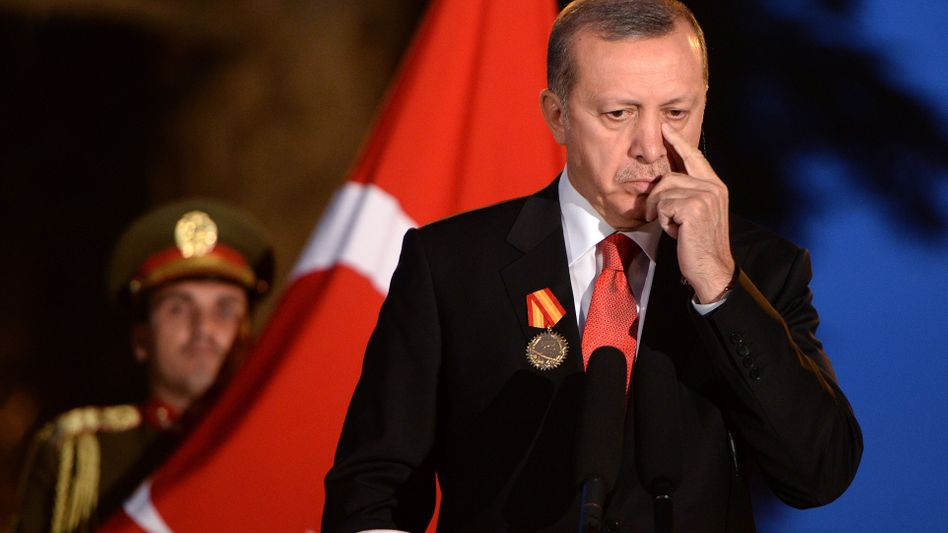 Türkischer Staatschef Erdogan: Vorsicht bei vorschnellen Vorwürfen