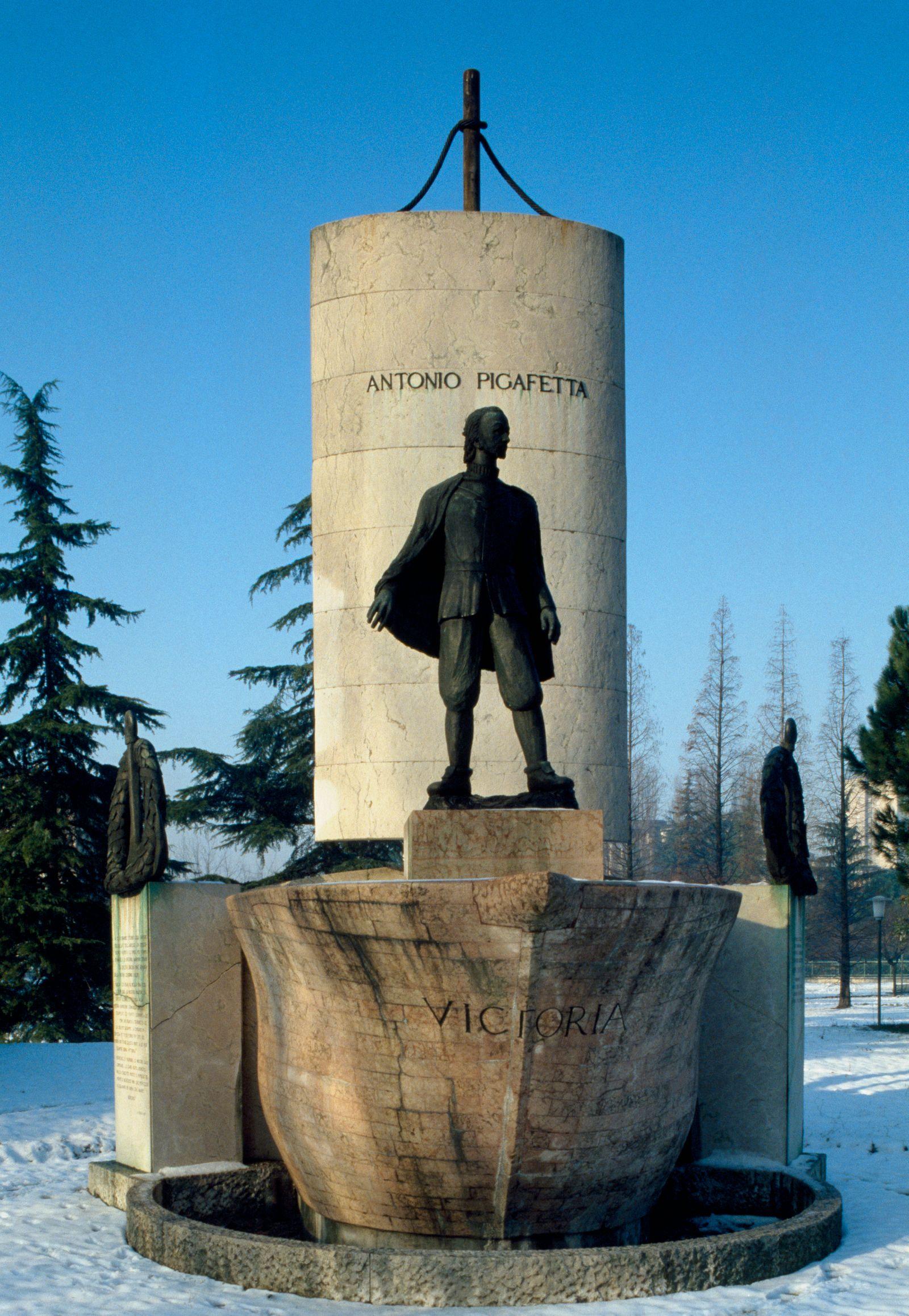 Monument to Antonio Pigafetta