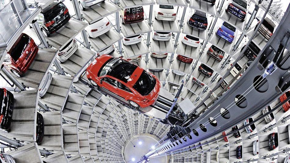 VW-Autostadt in Wolfsburg