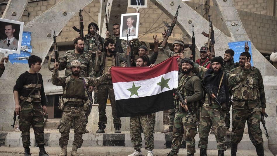 Syrische Soldaten (2017)