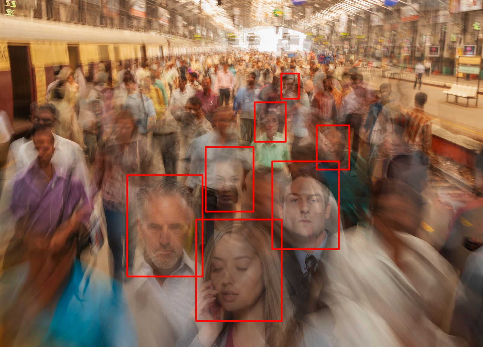 Facial Crowd Recognition Technology