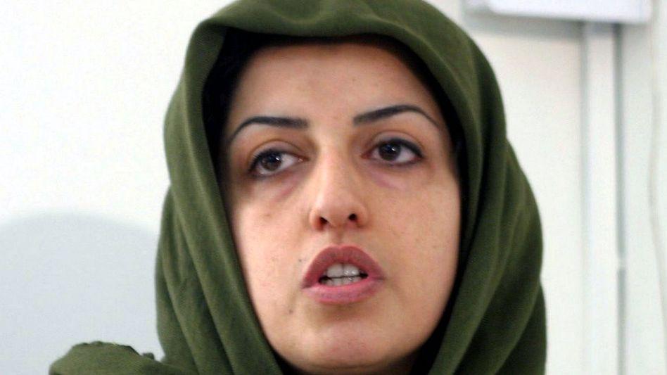 Nargess Mohammadi kam in der Nacht zu Donnerstag aus der Haft in Iran (Archivbild aus 2005)