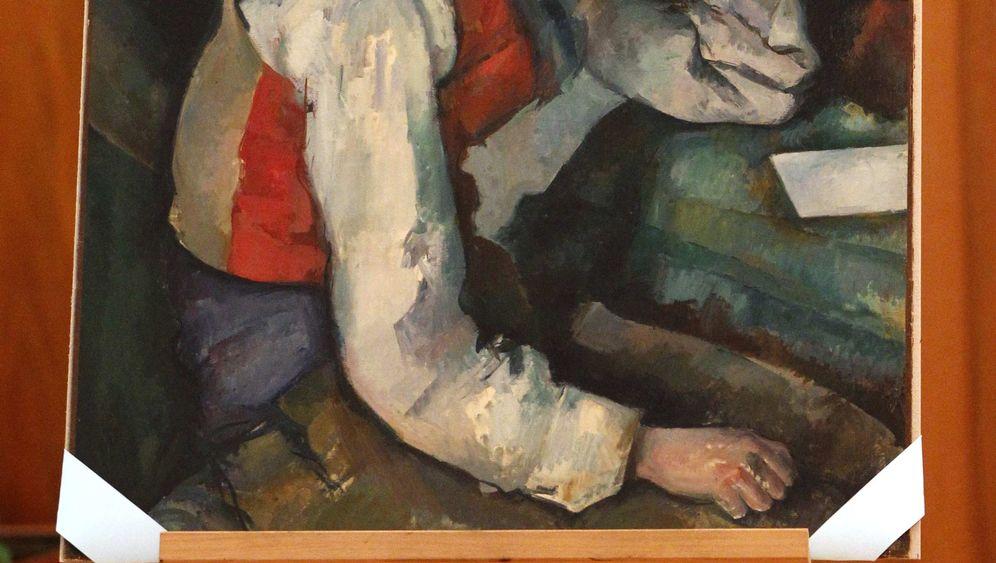 Ende eines spektakulären Kunstraubs: Cézanne unter Polizeischutz