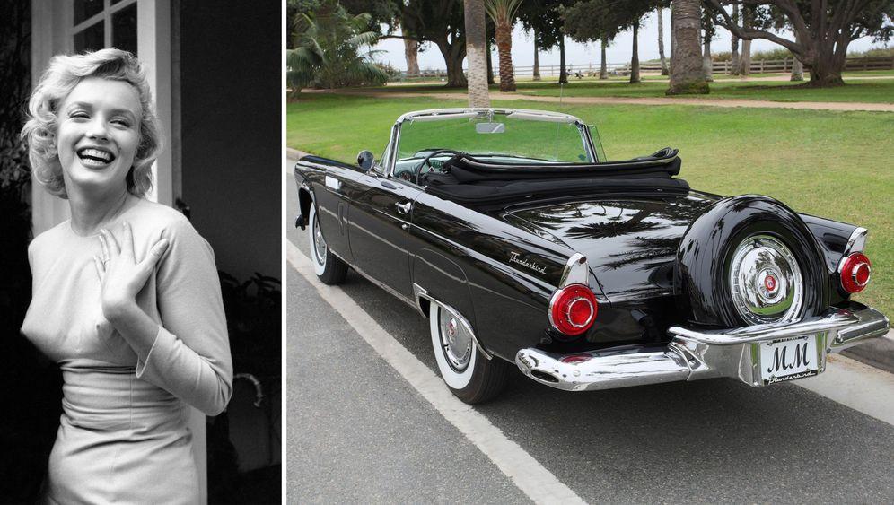 Marilyn Monroes Cabrio: Das hübsche Schwarze
