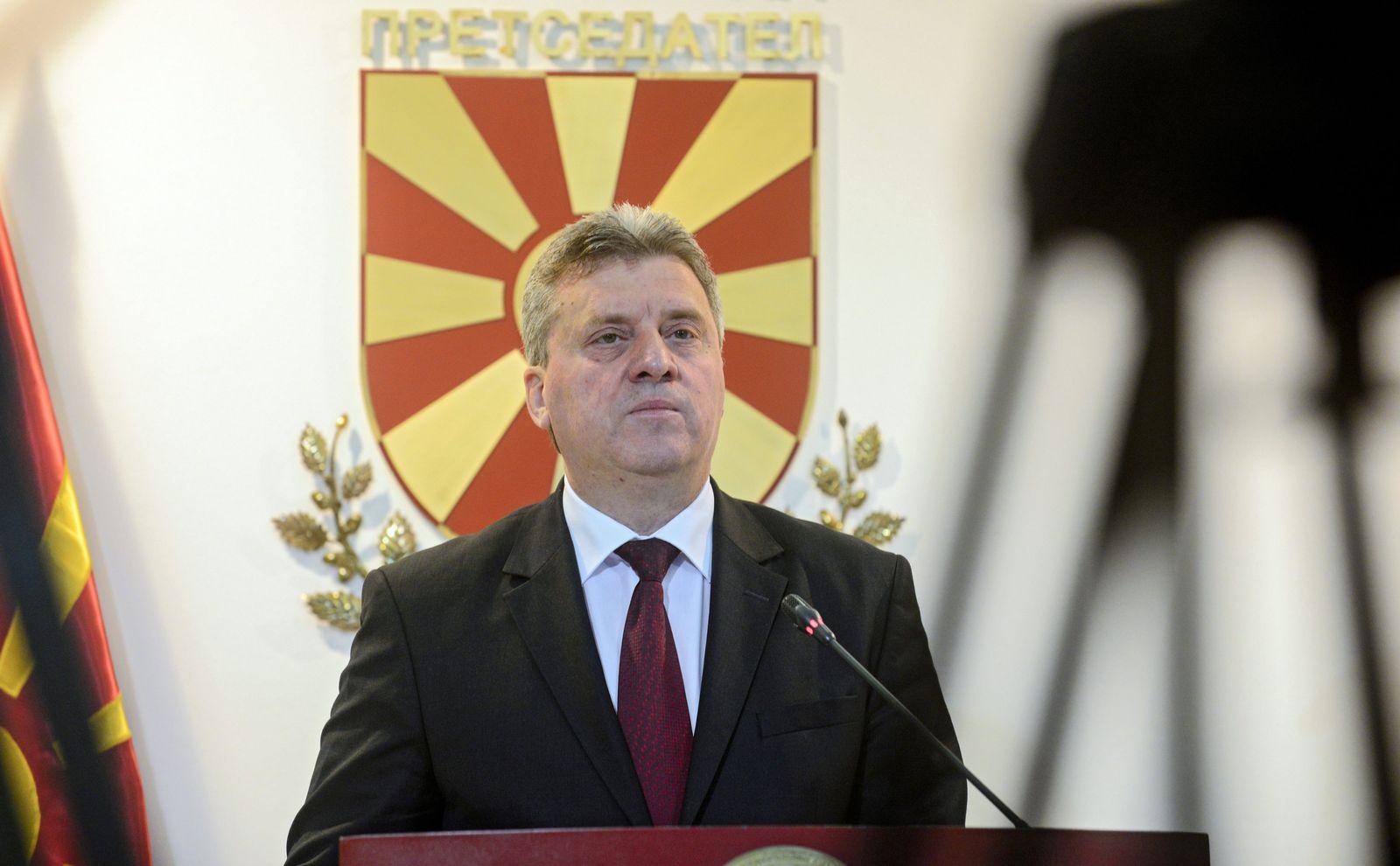 Krisenstaat/ Mazedonien/ Gjorge Ivanov