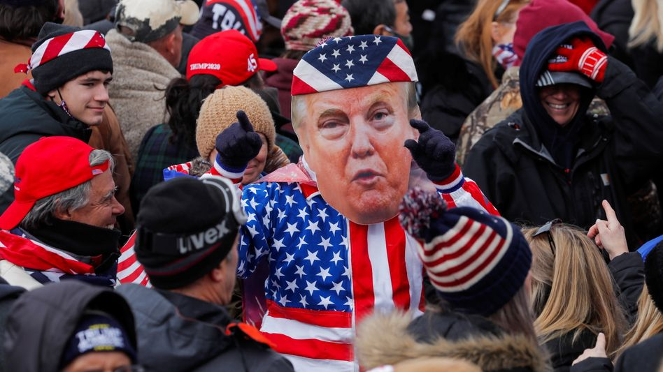 Trump-Fans bei dem »Save America March« in Washington