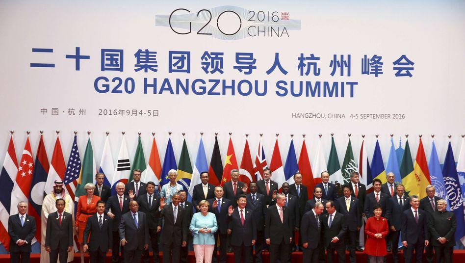 G20-Gipfel in Hangzhou