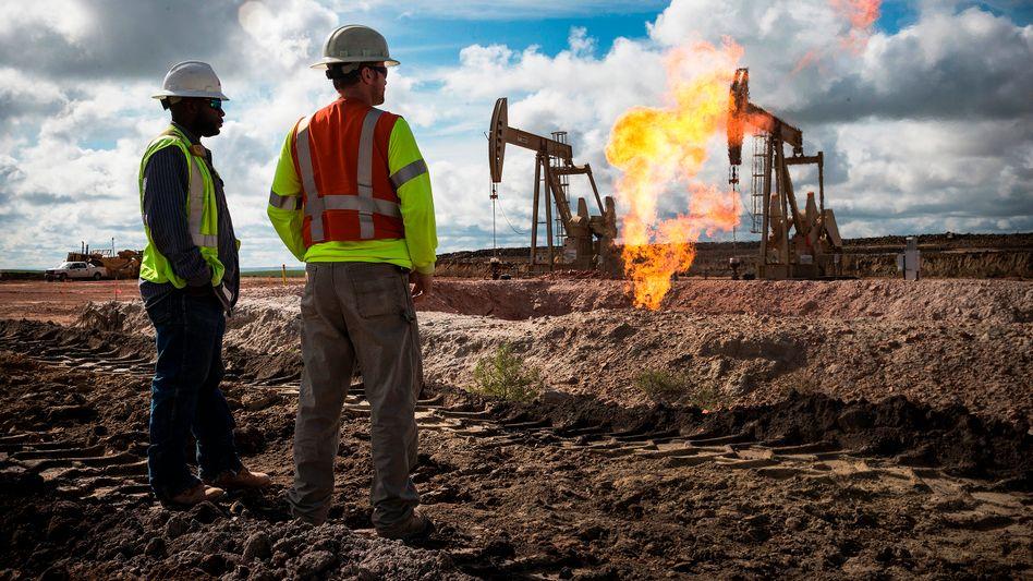 Ölförderung (Archivbild)