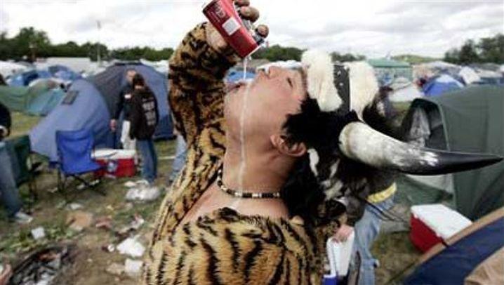 Rockfestivals: Ekstase im Schlamm