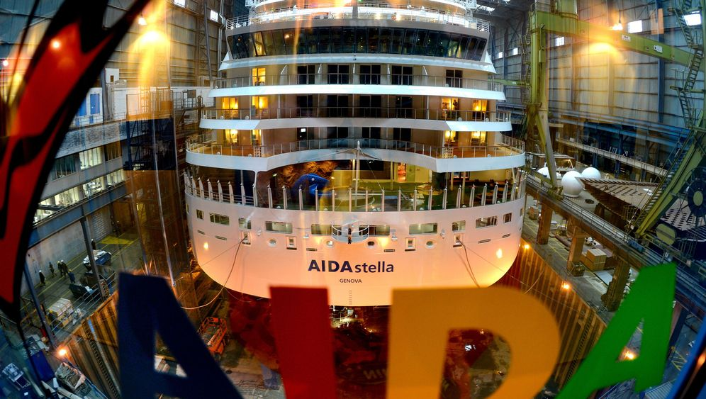 """Neubau """"AIDAstella"""": Werft-Besuch in Papenburg"""