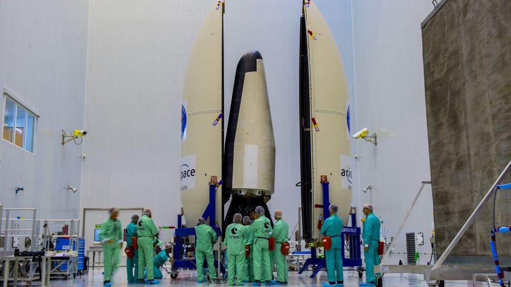 Intermediate experimental Vehicle: Europäisches Raumfahrzeug auf Testflug mit sanfter Rückkehr