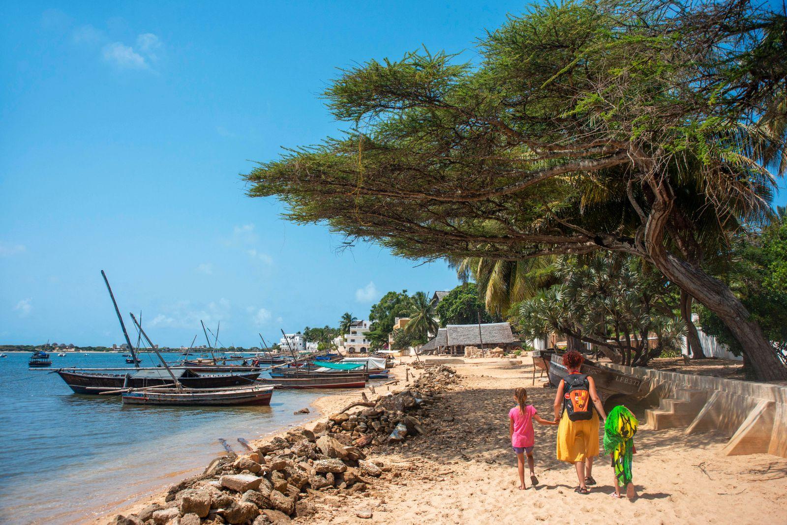 Shela beach in the south of Lamu island archipelago in Kenya Kenya Copyright: xSergixReboredox SRE-CU3729