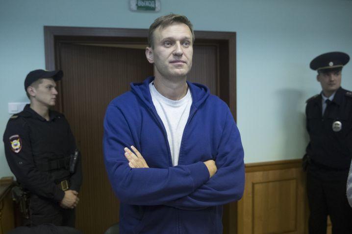 Alexej Nawalny vor Gericht