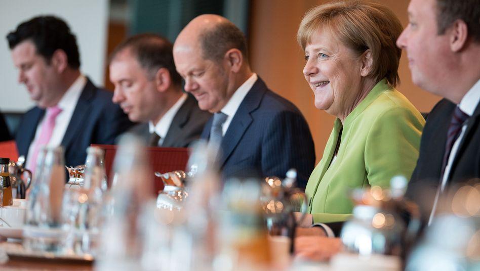 Sitzung des Bundeskabinetts (Archivbild)