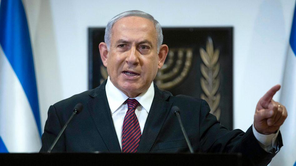 Netanyahu in der Knesset: Seit 2009 durchgängig im Amt