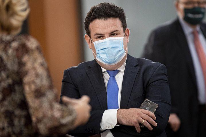 An Sitzungen wird Bundesarbeitsminister Hubertus Heil vorerst nur aus der Quarantäne teilnehmen