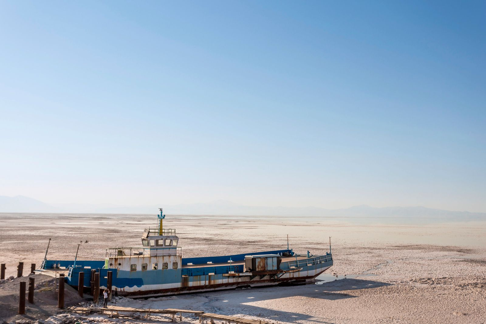 Shrinking Urmia Lake