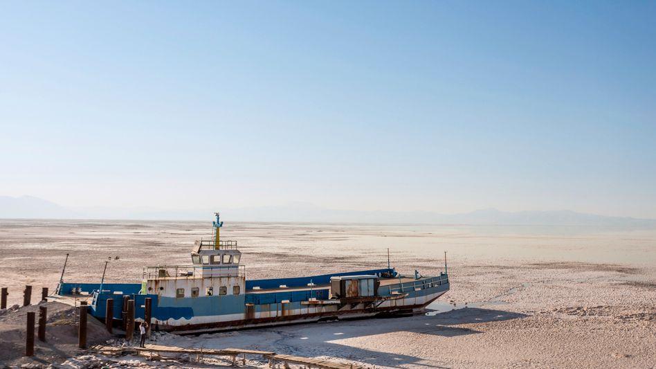 Ausgetrockneter Urmia-See (2018): »Umweltprobleme haben ein großes Mobilisierungspotenzial«