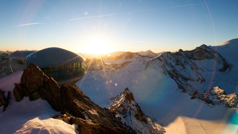 Pitztaler Gletscher: Österreichs höchstes Café eröffnet