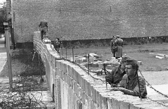 Mauerbau in Berlin (1961): »Ordnung und klare Verhältnisse«