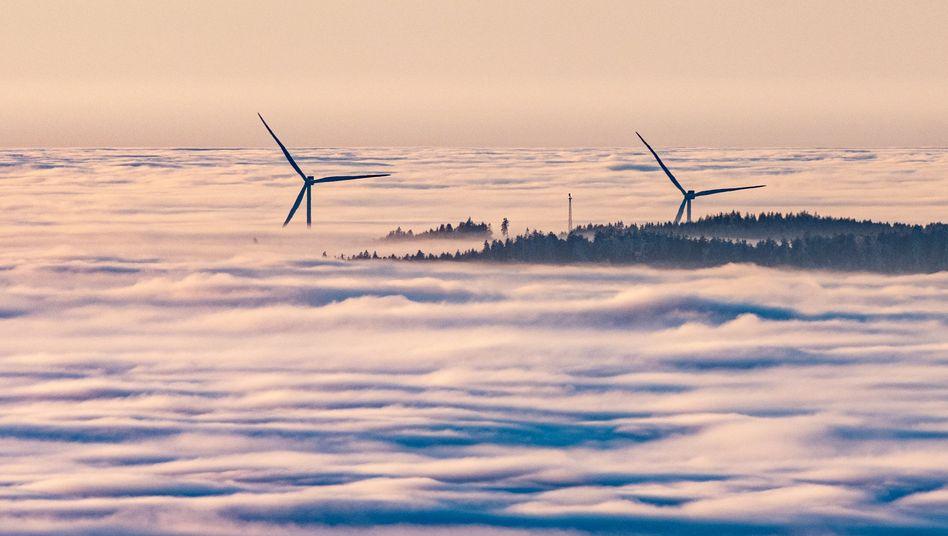 Windkraftanlagen im Bayerischen Wald