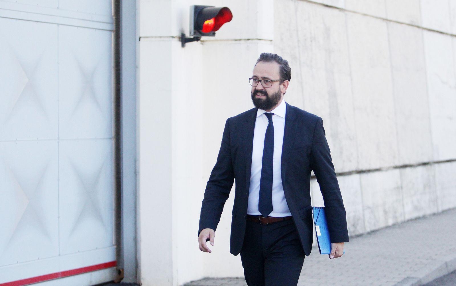 Sachsen/ Justizminister/ Sebastian Gemkow besucht JVA Leipzig