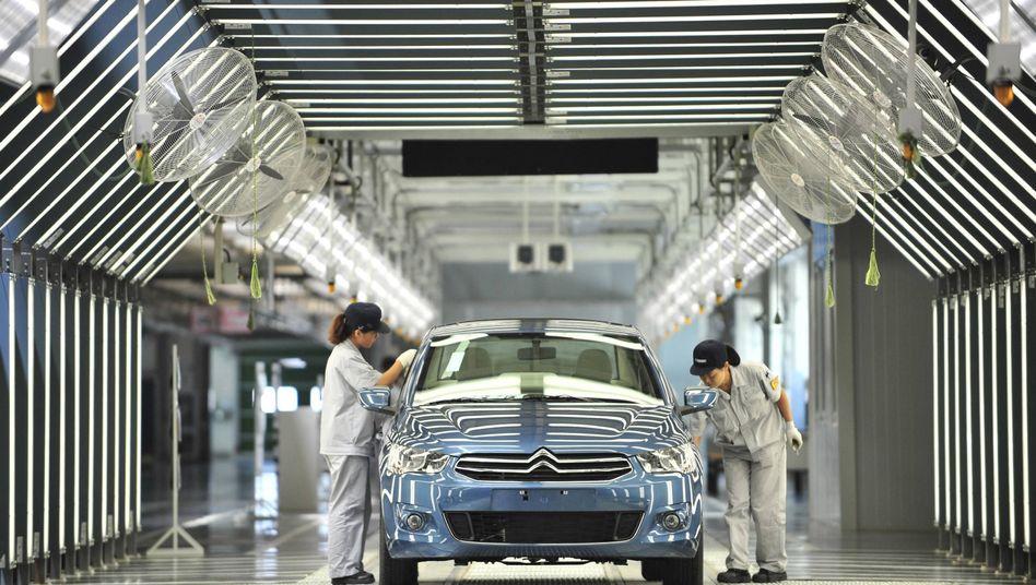 """Citroën-Produktion in einer Fabrik von Dongfeng: """"Wir sind sehr skeptisch"""""""
