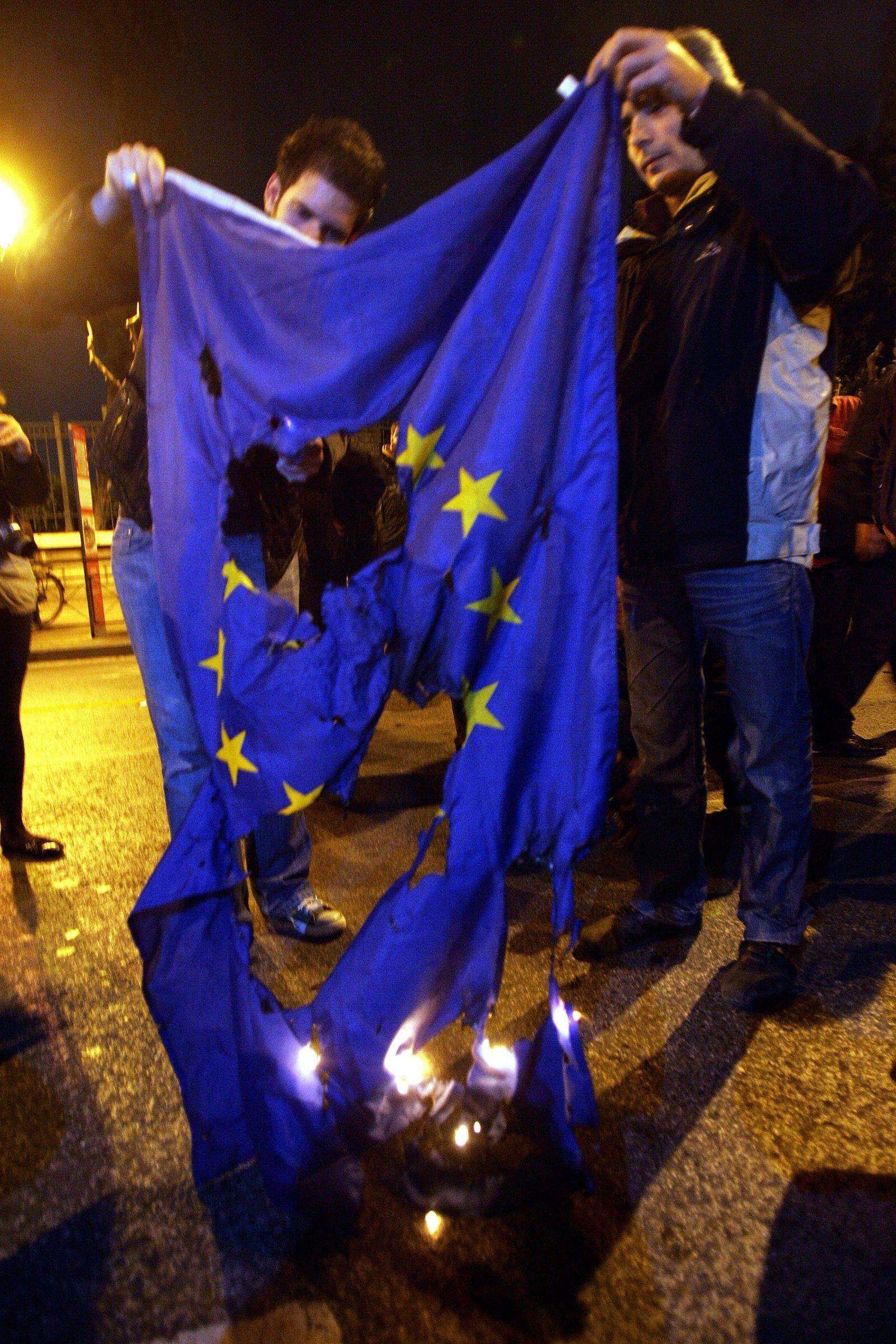 Proteste gegen Sparprogramm in Griechenland dauern an
