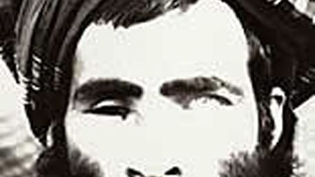 """An alleged photo of Taliban leader Mullah Omar: """"His role within the Taliban movement has been overestimated by the American Army and by the media."""""""