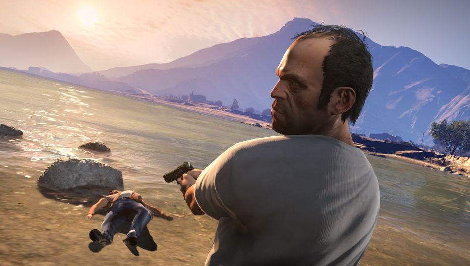 """Grand Theft Auto V"" durchgespielt: Gesellschaftskritik mit dem Holzhammer"