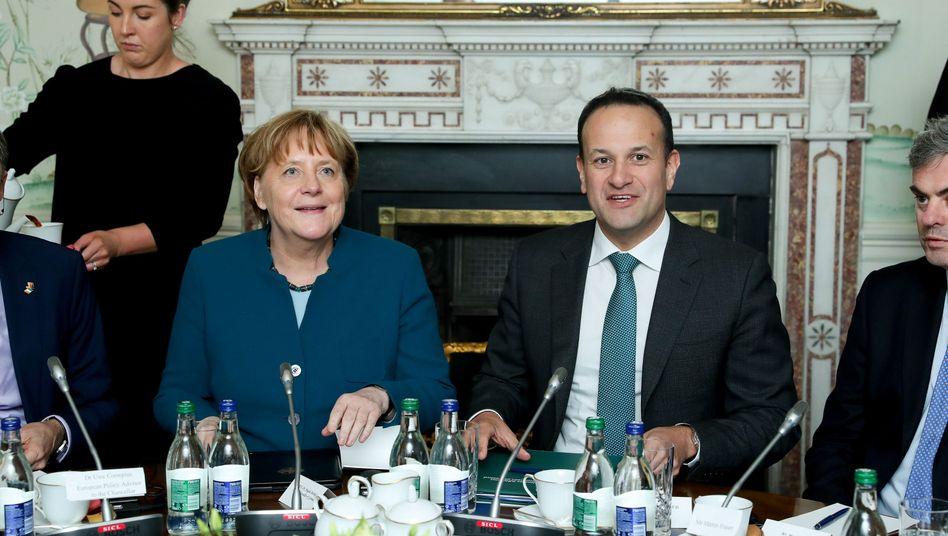 Angela Merkel, Leo Varadkar