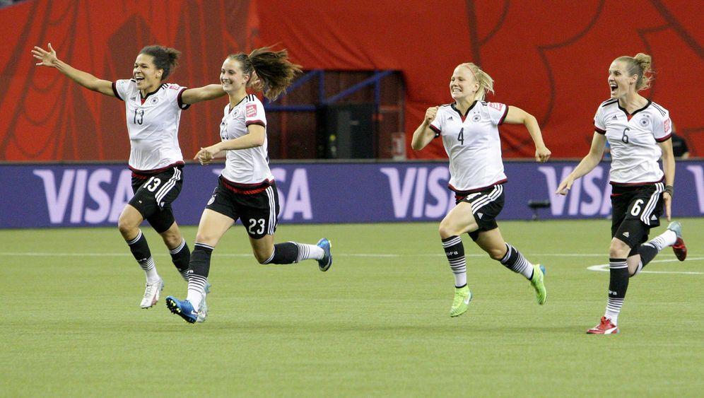 DFB-Frauen im Halbfinale: Der Titeltraum lebt