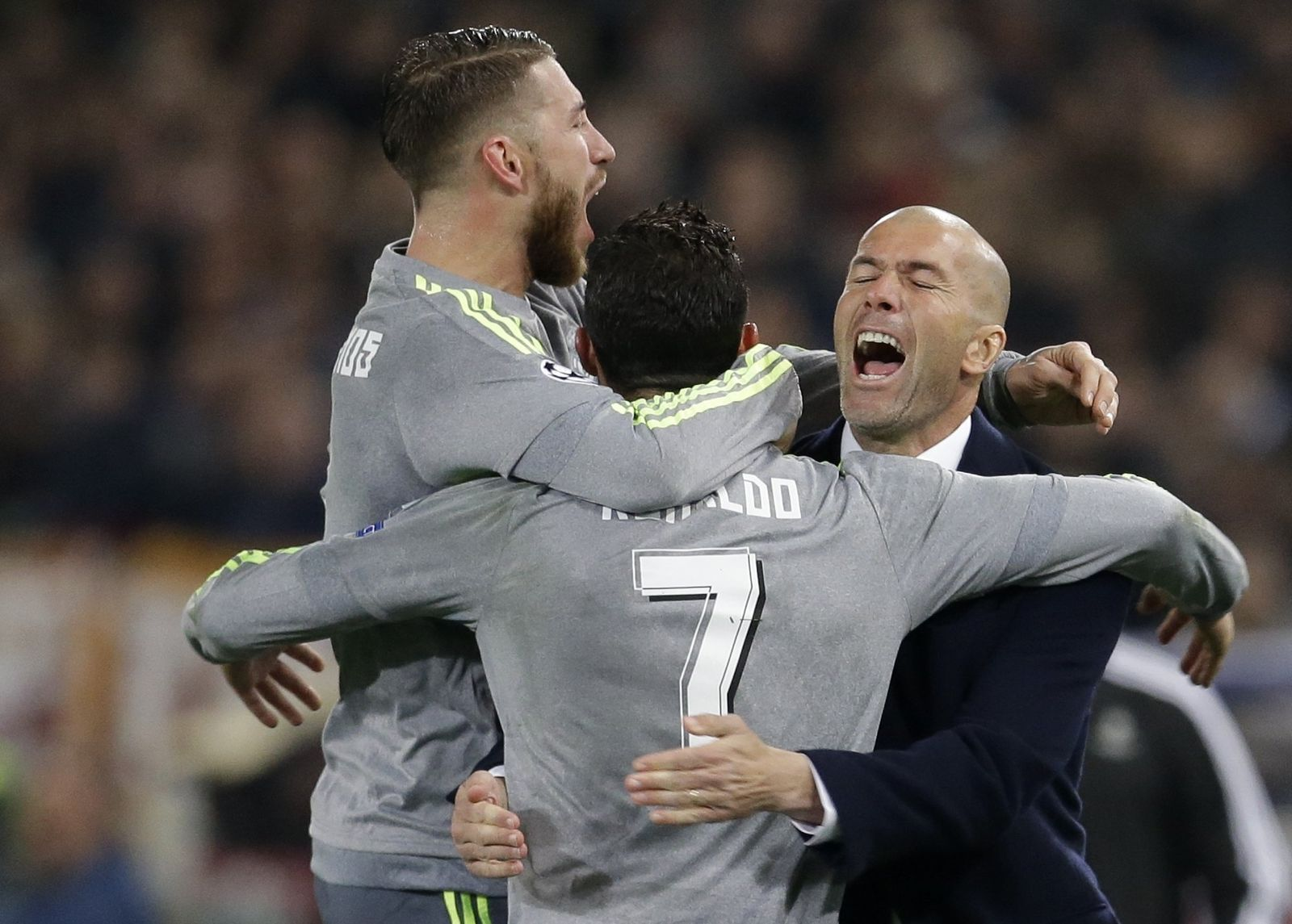 Real Madrid Zidane Ronaldo
