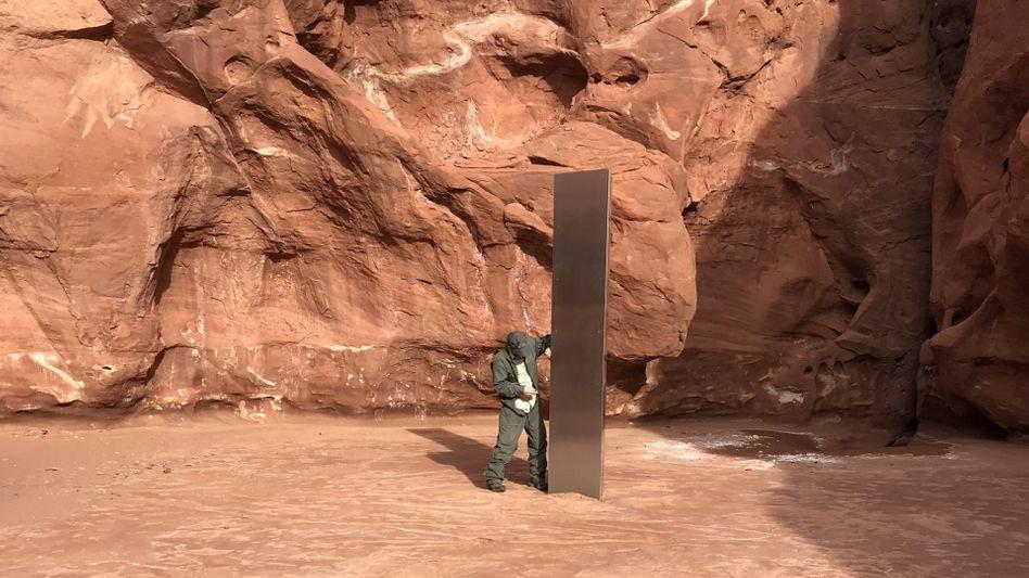 Fund in der Wüste von Utah: »Das war ungefähr das Seltsamste, was mir in all den Jahren des Fliegens begegnet ist«