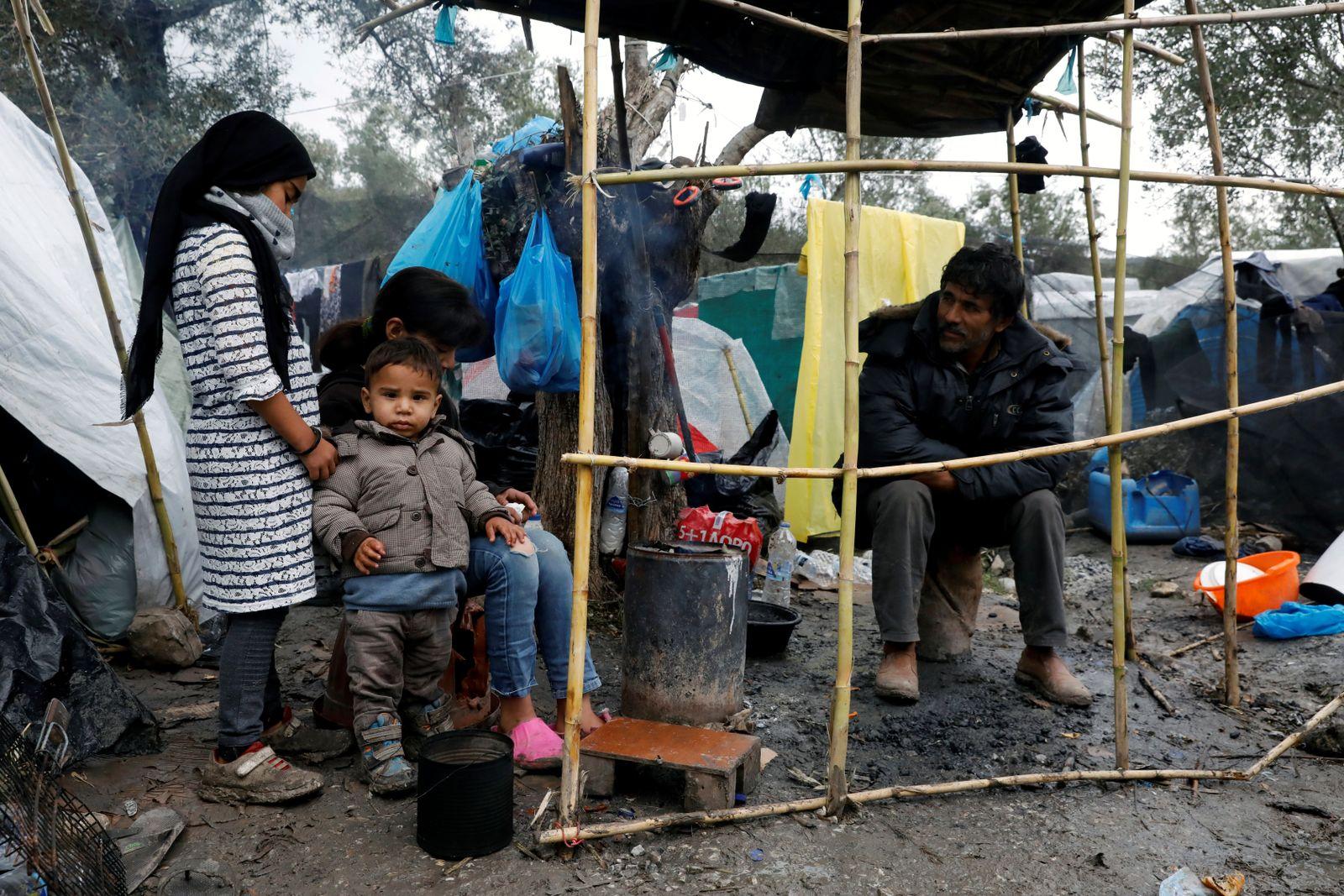 Migranten Lesbos