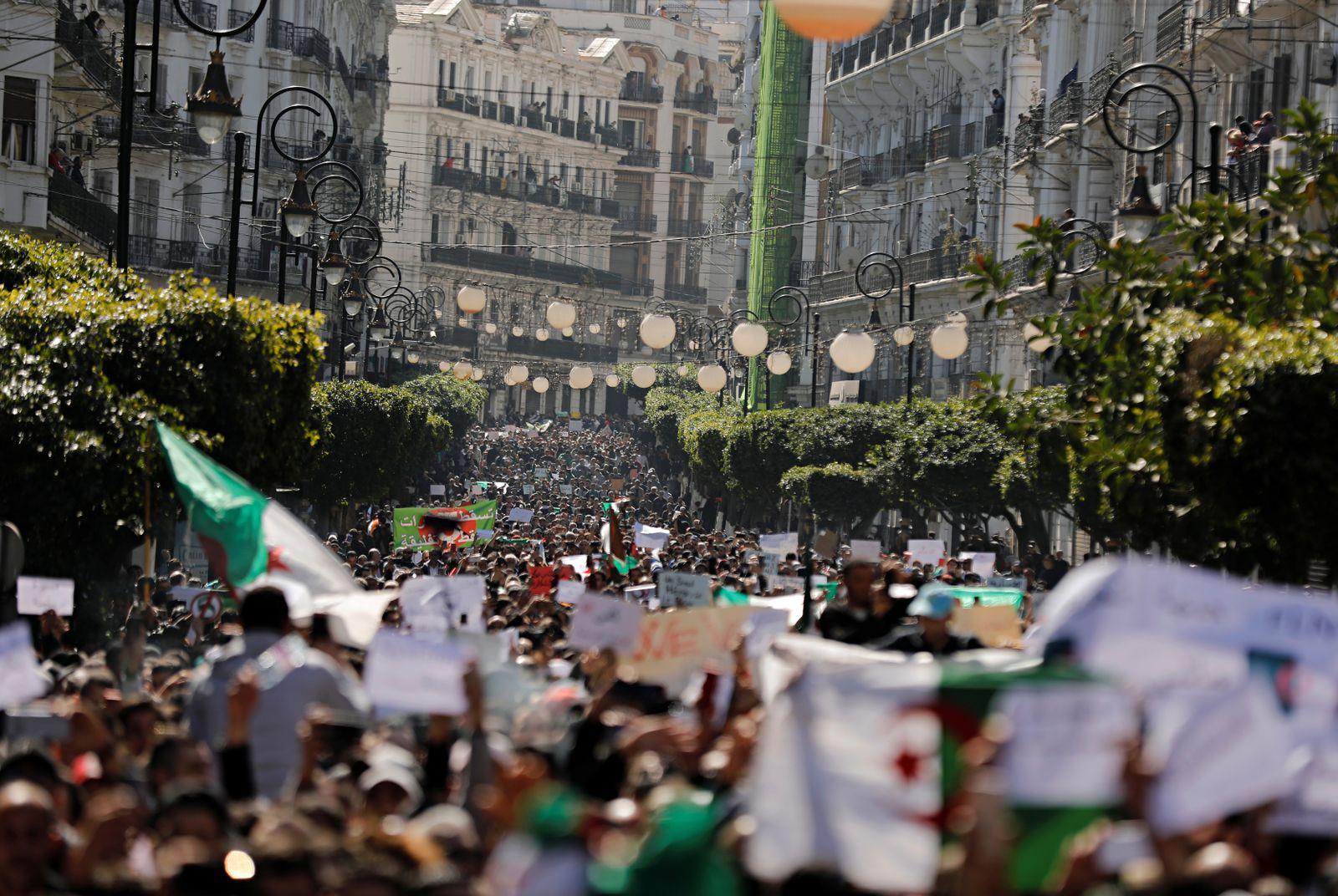 Algerien/ Proteste