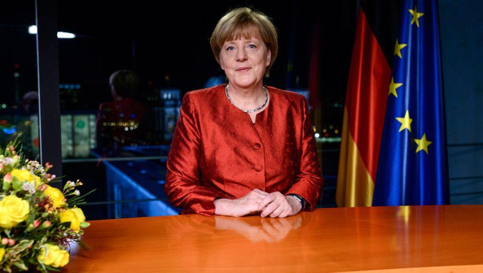 Neujahrsansprache: Merkel fürchtetSpaltung Deutschlands