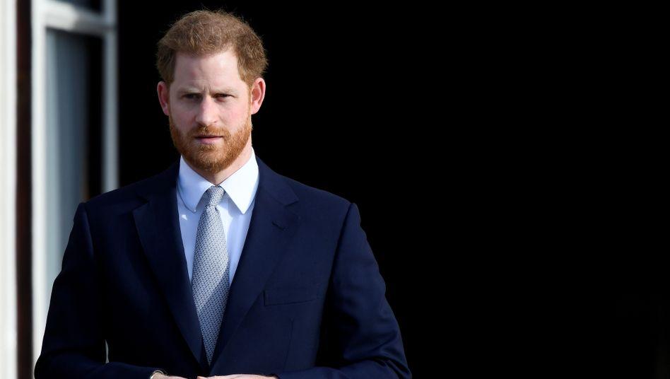 Prinz Harry (Archiv): Sagte sich Anfang des Jahres von seinen royalen Pflichten los