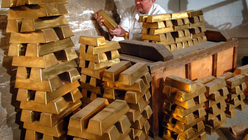 Zweiter Weltkrieg: Goldrausch im Salzbergwerk