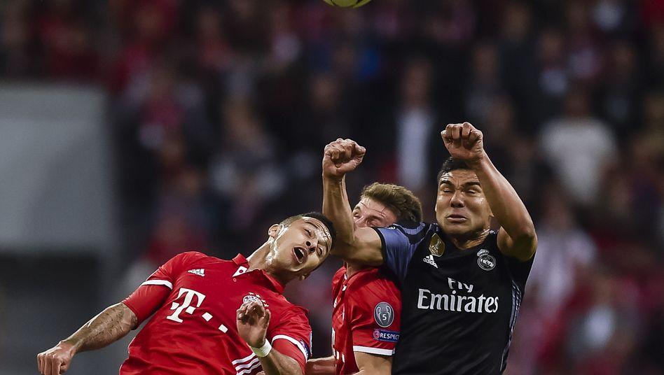Bayern München gegen Real Madrid