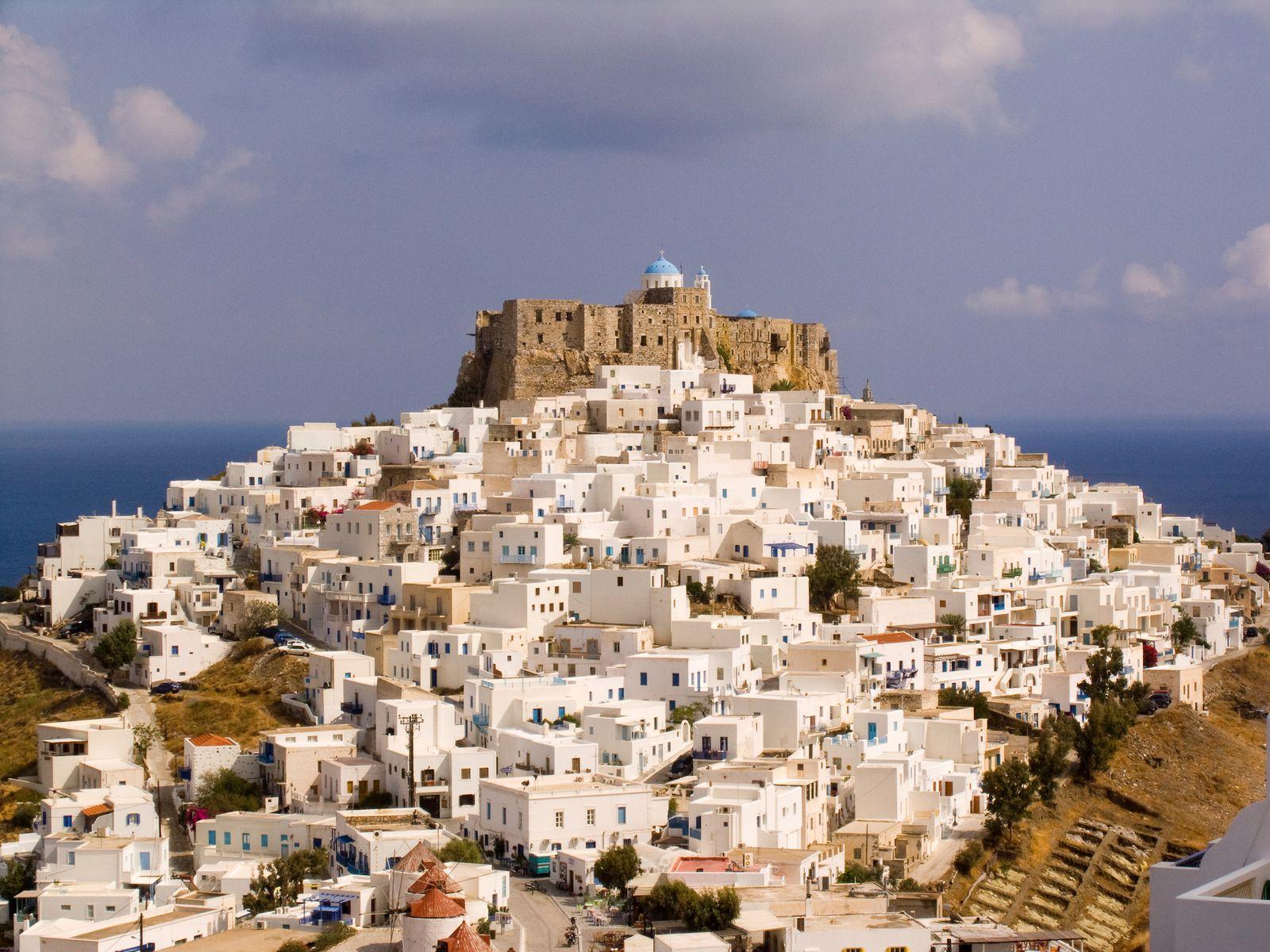 Chora. Astypalea Island. Dodecanese. Greece