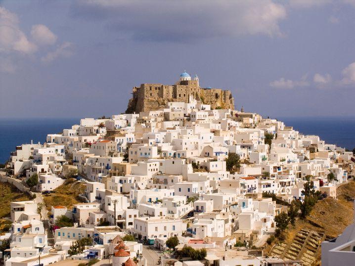 Hauptstadt Chora mit markanter venezianischer Burg aus dem 13. Jahrhundert: »Gastfreundschaft bedeutet unserer Insel alles«