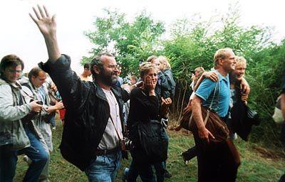 Insgesamt flüchteten etwa 600 DDR-Bürger über die ungarisch-österreichische Grenze