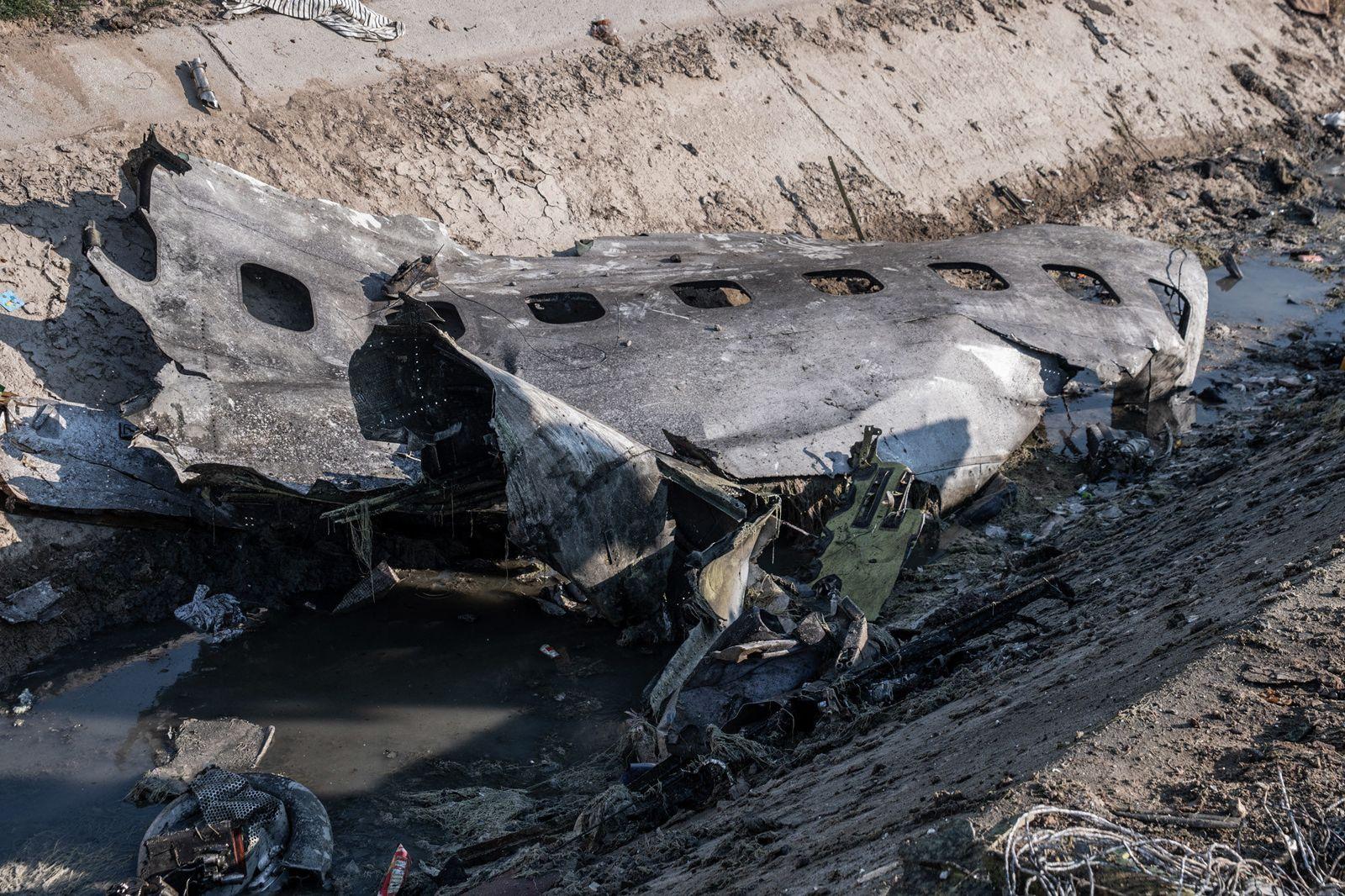 Ukrainischer Flugzeugabsturz im Iran