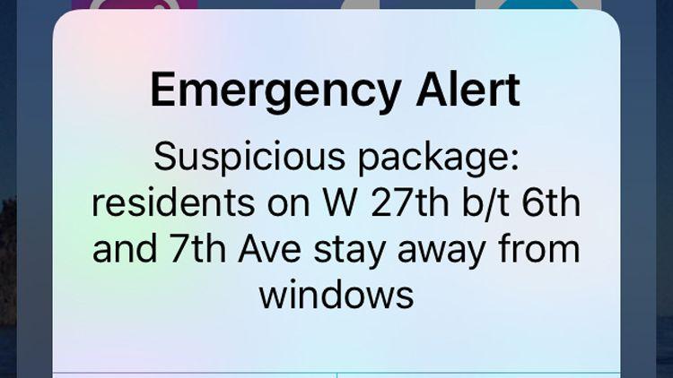 Notfall in New York City: Behörden können die Warnungen zielgenau auf bestimmte Straßenblocks konzentrieren