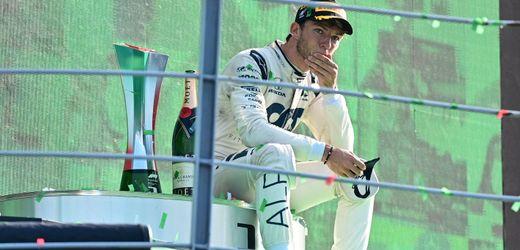 Formel 1: Der Sensationssieg von Pierre Gasly in Monza - Er hat nie aufgegeben
