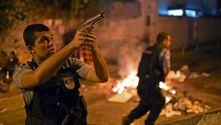 Krawalle in Rio: Aufruhr an der Copacabana